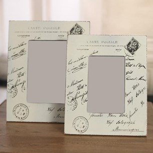 'Carte Postale' Photo Frame - 5x7