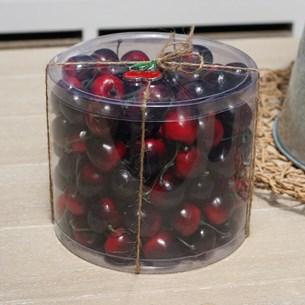 Cherries Vase / Glass Jar Filler