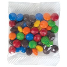 50 gram Cello Bag of Milk Chocolate M&M's