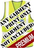 Premium EasyPrint™ - FRONT PRINT - Print on any Hi Vis garment - Minimum of 12 Prints - Garment Not Included - [IH-EPPFP]