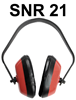 Supreme TFF Ear Muff - CE Approved - Conforms to EN352-1 - SNR 21 - [HT-H-HOPT001]