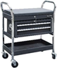 Sentribox Sentri Cart Workshop Trolley - Fitted with 2 Fixed 2 Swivel/Braked Wheels - [SB-SENTRI-CART]