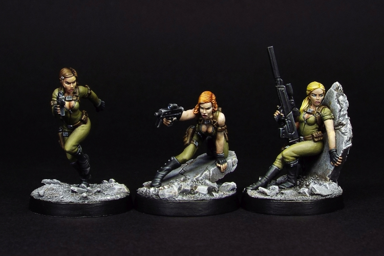 Kill Team Kill! - Foxy and her gang are re-released!
