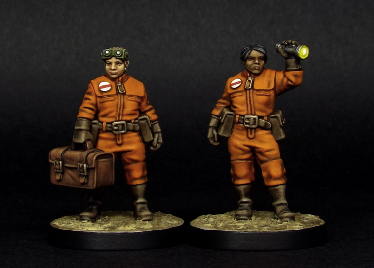 The Able Spacewomen are on sale now!