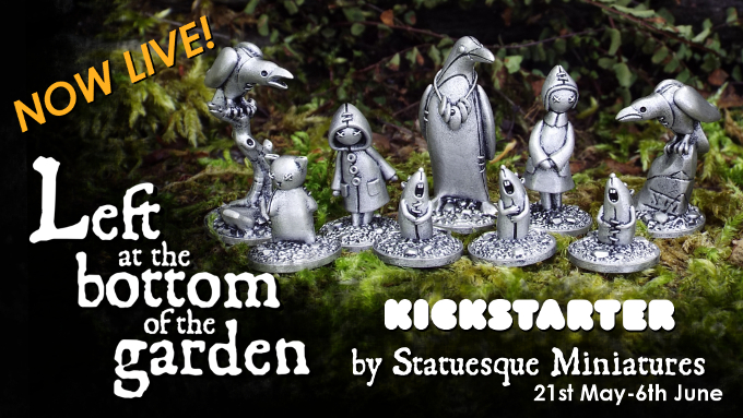 Left at the Bottom of the Garden Kickstarter now LIVE!