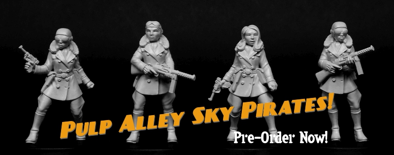 Pre-Order Pulp Alley Sky Pirates Now!