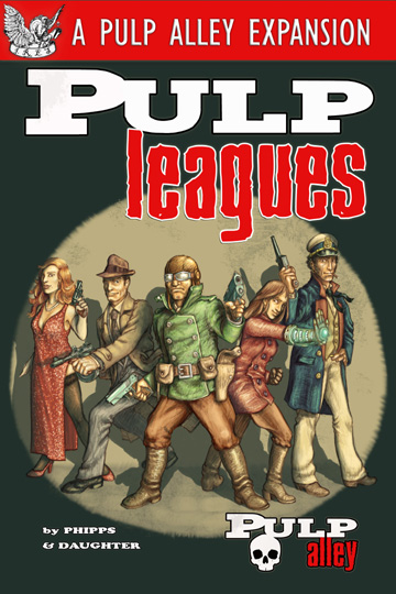 Pulp Leagues up for Pre-Order - a new Pulp Alley expansion!