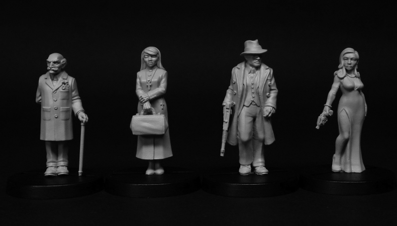 Pulp Alley and Aslyum figures available now!