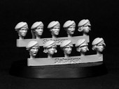SMA203 Pulp Scale Female Heads - Berets
