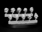 SMA206 Pulp Scale Female Heads - Bionic