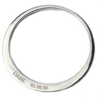 Sterling Silver Bangle - Children's Sizing