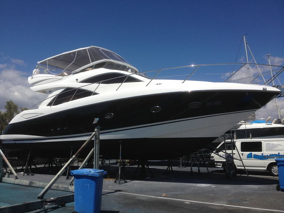 Sunseeker 50 Manhattan - getting a birthday.