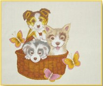 Puppies Placemat