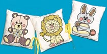 Nursery Cuddle Cushions Set-of-3