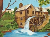The Old Mill - Large Size