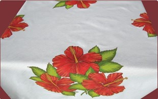 Hibiscus  Coffee Cloth