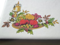 Festive Fruit Tablecloth