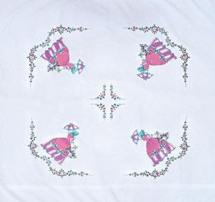Crinoline Lady Tablecloth