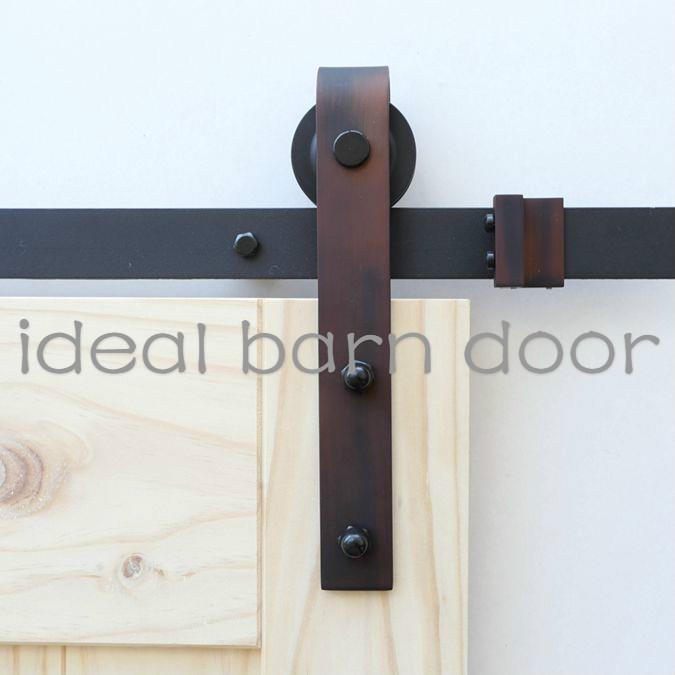 antique copper 2m barn door hardware b02ab ideal barn With copper barn door hardware