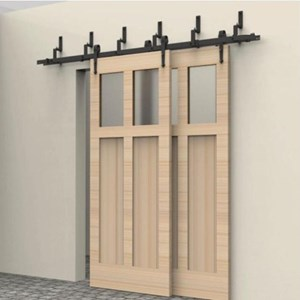 1.8M Bypass Sliding Barn Door system B02