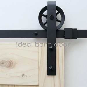 2M Side Mount Sliding Barn Door hardware  B09