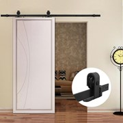 2M Top Mounted Sliding Barn Door hardware B01