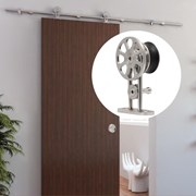 1.8M  Top mounted Sliding Barn Door Hardware S05