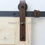 Weathered Rust 1.8M  Barn Door hardware B02WR