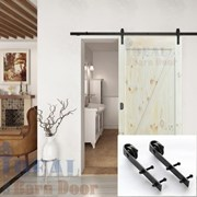 1.5M Side Mount Sliding Barn Door hardware B02