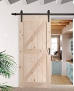 Double Z-Brace Barn Door BD005H (2400mm)