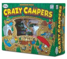 Popular Playthings - Crazy Campers Brainteaser Puzzle