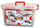 Zoob 500pc Building System Set Bucket