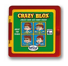 Crazy Blox Travel Puzzle - Girl