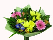 Bubbly & Bright Flower Bouquet | Subiaco Florist