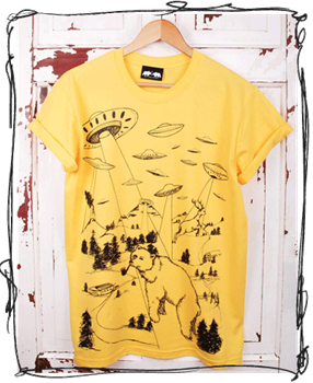 Abduction: Yellow T-Shirt