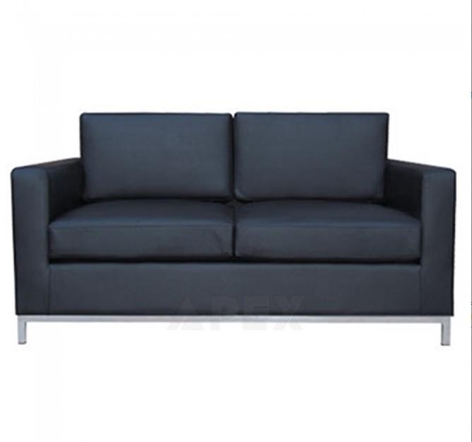 Aimy Modern Leather Sofa Lounge 2 seater