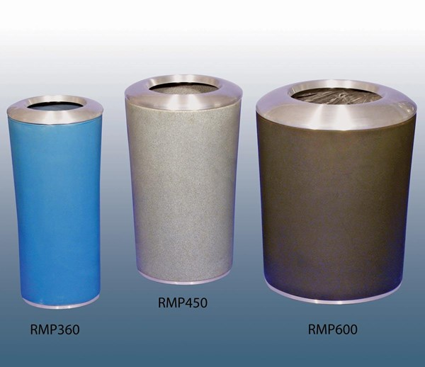 RMP360, RMP450 and RMP600 Plastic Round Bins