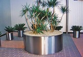 Stainless Steel Plant Pots