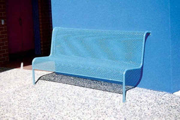 S105 Perforated Metal Seating