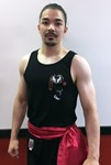 Limited Edition Wing Chun Singlet - black