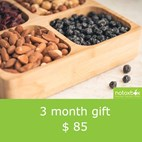 Superfood Snack Box subscription | 3 month gift