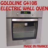NEW GOLDLINE G410B 7 FUNCTION ELECTRIC FAN FORCED 52L WALL OVEN MADE IN FRANCE
