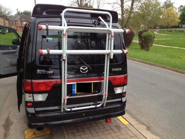 Fiamma Carry Bike Rack For Mazda Bongo Everything Fiamma