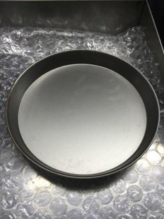 """5 X 12"""" IRON PIZZA PANS 1.5"""" FOR DEEP PAN PIZZA PROFESSIONAL QUALITY 5X 12"""" PIZZA PANS"""