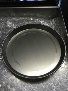"""14"""" IRON PIZZA PANS 1.5 FOR DEEP PAN PIZZA PROFESSIONAL QUALITY"""