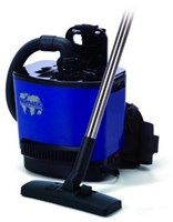 NUMATIC RUCK SAC RSV130 $459 COMMERCIAL BACKPACK VACUUM CLEANER, MADE IN ENGLAND, 2 YEAR COMMERCIAL WARRANTY