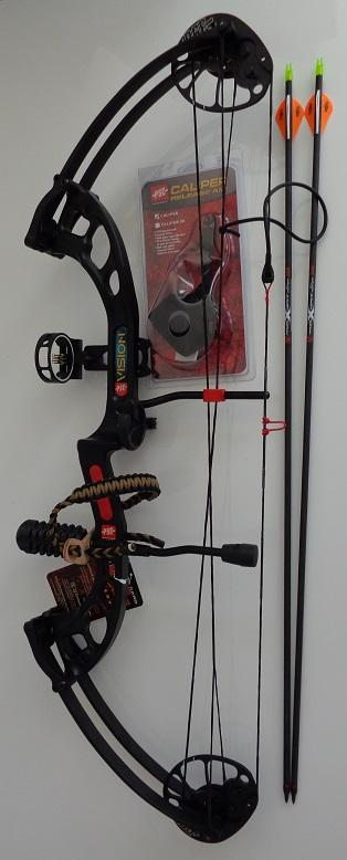 PSE Vision compound bow kit (Ready to Shoot)