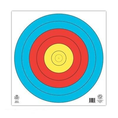 Jvd Wa Target Face Outdoor 80cm Centre Unnumbered Archery