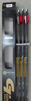 "Gold Tip Ultralite Entrada Arrows 2"" vanes CLEARANCE"