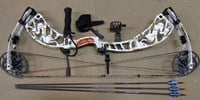 "Sanlida Romance Compound bow Kit 30-50# 23-30"" White camo RH"